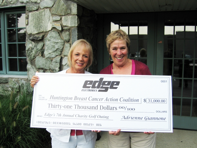 Edge Electronics CEO Adrienne Giannone and HBCAC Founder Karen Miller